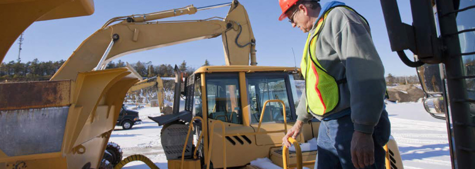 Preventing Falls from Construction Equipment